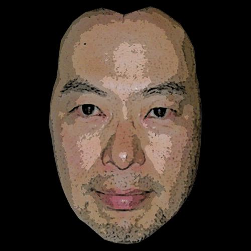 修正する前の画像。つまり元の顔