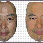 第十四回。【印刷成形のデーター作り】成形用に画像を作り直さないとちがう人になっちゃうよ。