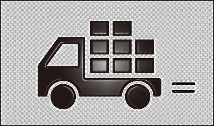スライドブリスターでの凸部分の位置は梱包費や運送費に影響を与えます。