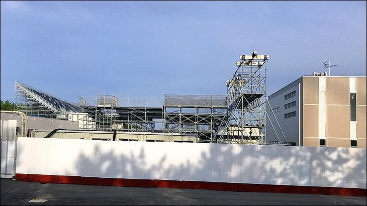オリンピックカヌースラローム会場は今こんなところまで出来ています。