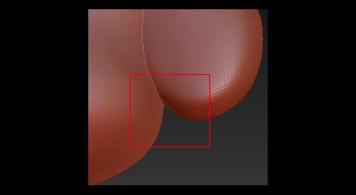形状の入り込んだところは強度が弱くつぶれやすい