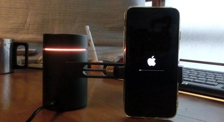 ブルートゥースをペアリングさせるために、iOSバージョンアップもしてみましたが。