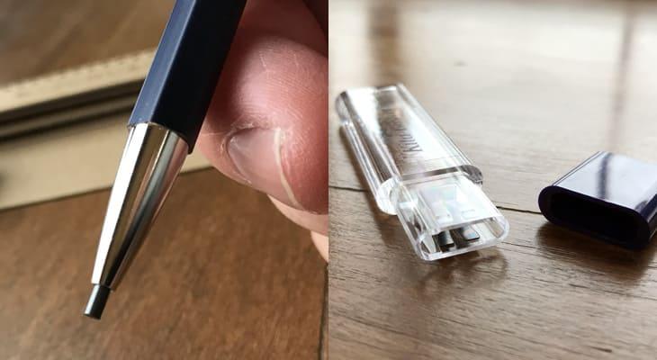 北星鉛筆「大人の鉛筆」ペンと芯削り